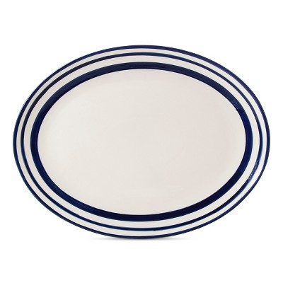 Fremont Oval Serving Platter White - Beekman 1802 FarmHouse™