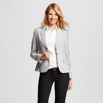 womens gray blazer : Target