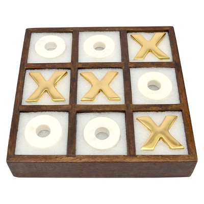 Wood Tic Tac Toe Game - Threshold™