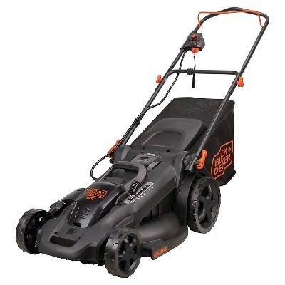 "BLACK+DECKER™ 20"" 40V MAX* Lithium 3-in-1 Lawn Mower with (2) 2.0 Ah Batteries - Black"