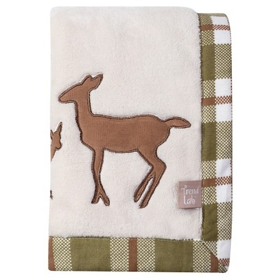 Trend Lab Baby Blanket - Deer Lodge