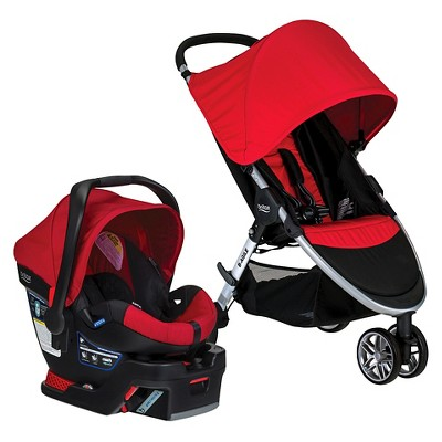Britax 2016 B-Agile/B-Safe 35 Travel System - Red