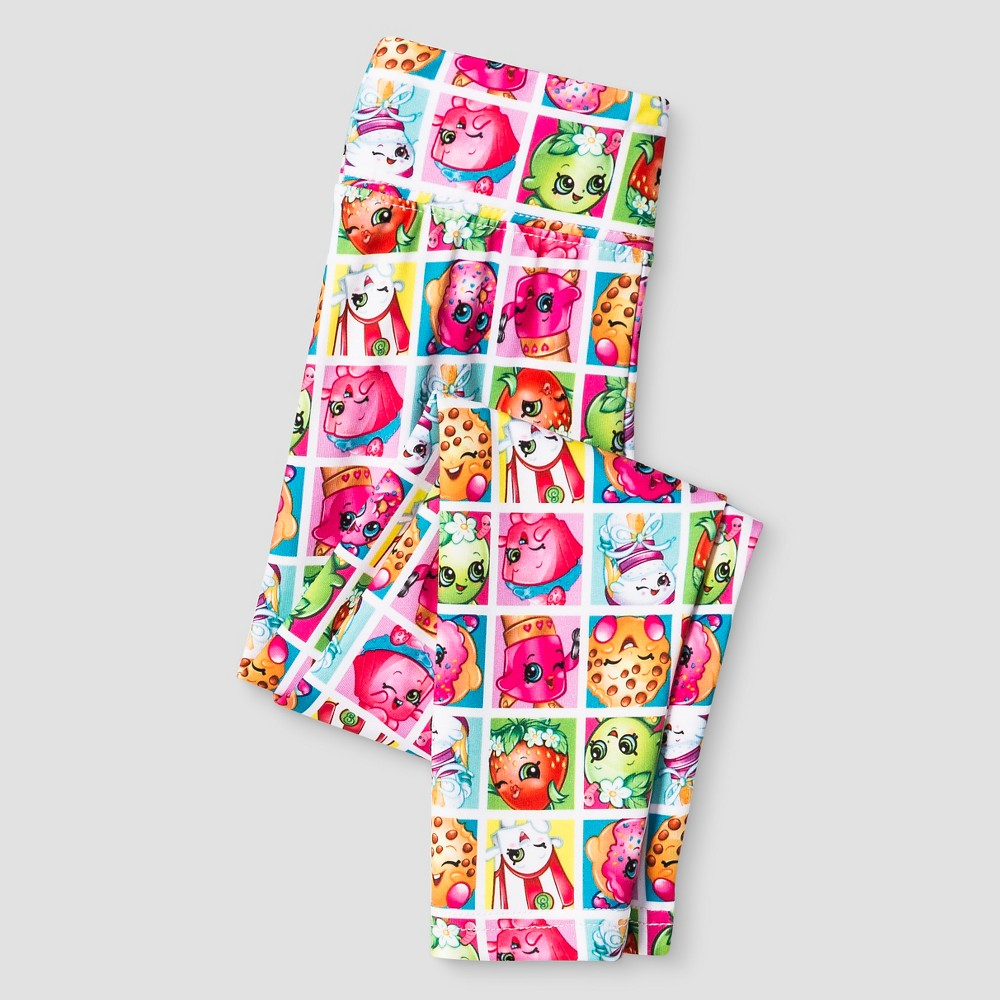 Girls' Shopkins Activewear Leggings - Multi-Colored 8, Girl's