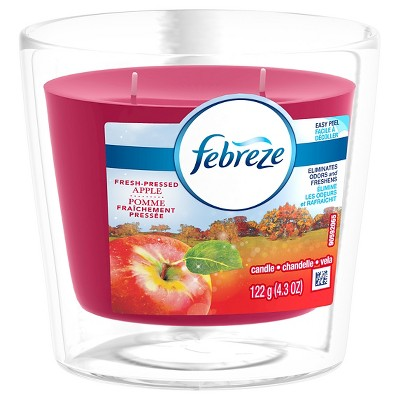 Febreze Candle Apple, 4.3oz