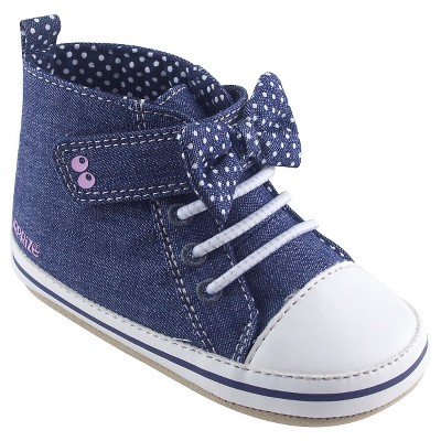 Baby Boys' Soft Sole Hi-Top Sneaker Blue 12-18M - Surprize by Stride Rite™