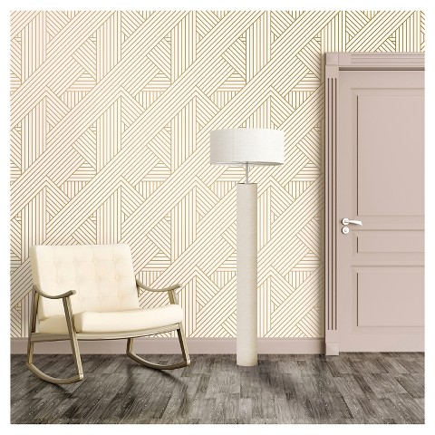Devine Color Ribbon Peel And Stick Wallpaper L Target