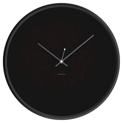 JONSSON Clock with Black Case 12""