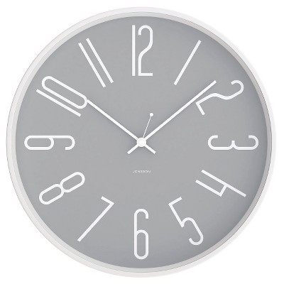 JONSSON Clock with White Case 12""