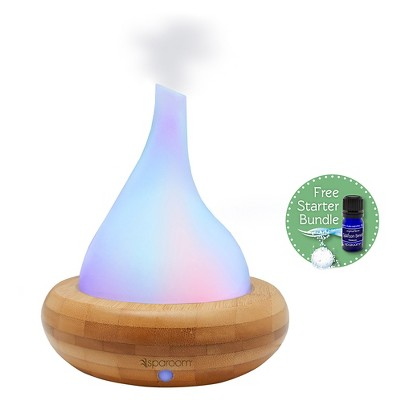 SpaRoom® AromaScape Diffuser Bamboo and Glass