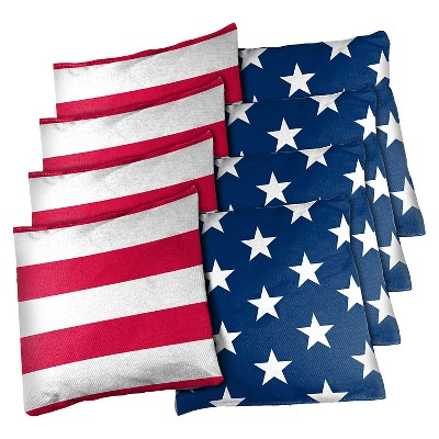 Wild Sports 16oz Stars & Stripes 8-Pack Bean Bag Set