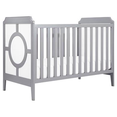 DaVinci Poppy Regency 3-in-1 Convertible Crib  - White/Gray