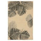 "Terrace Indoor/Outdoor Palm Neutral Rug 23""X7'6"" Natural - Liora Manne"