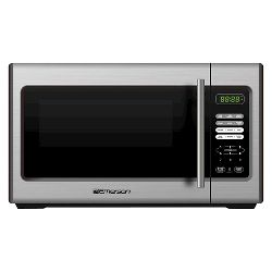 Oster 1 3 Cu Ft 1100 Watt Microwave Oven Black