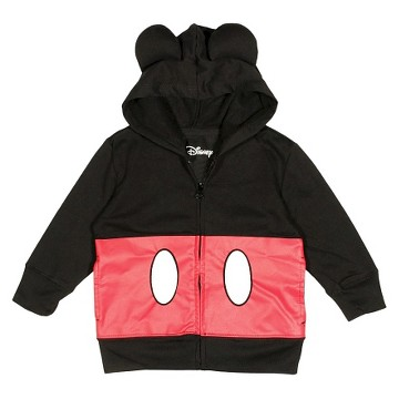 Boys' Mickey Mouse Sweatshirt - Black/Red