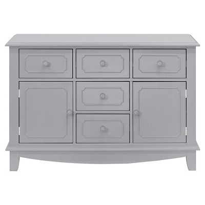 Million Dollar Baby Classic Sullivan Double-Wide Dresser - Gray