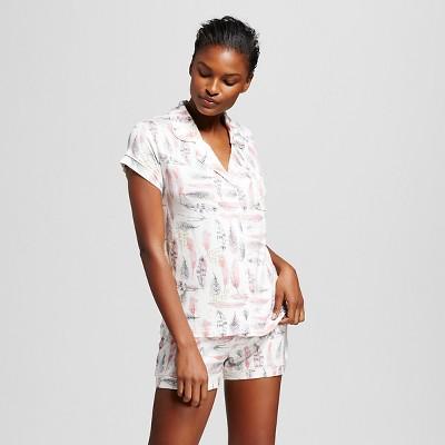 Women's Pajama Set Total Comfort Feather Print L - Gilligan & O'Malley™