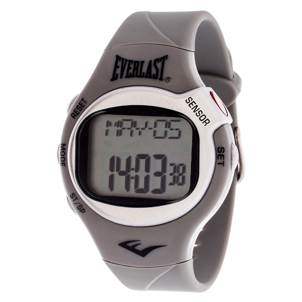 Everlast Heart Rate Monitor Watch - Grey