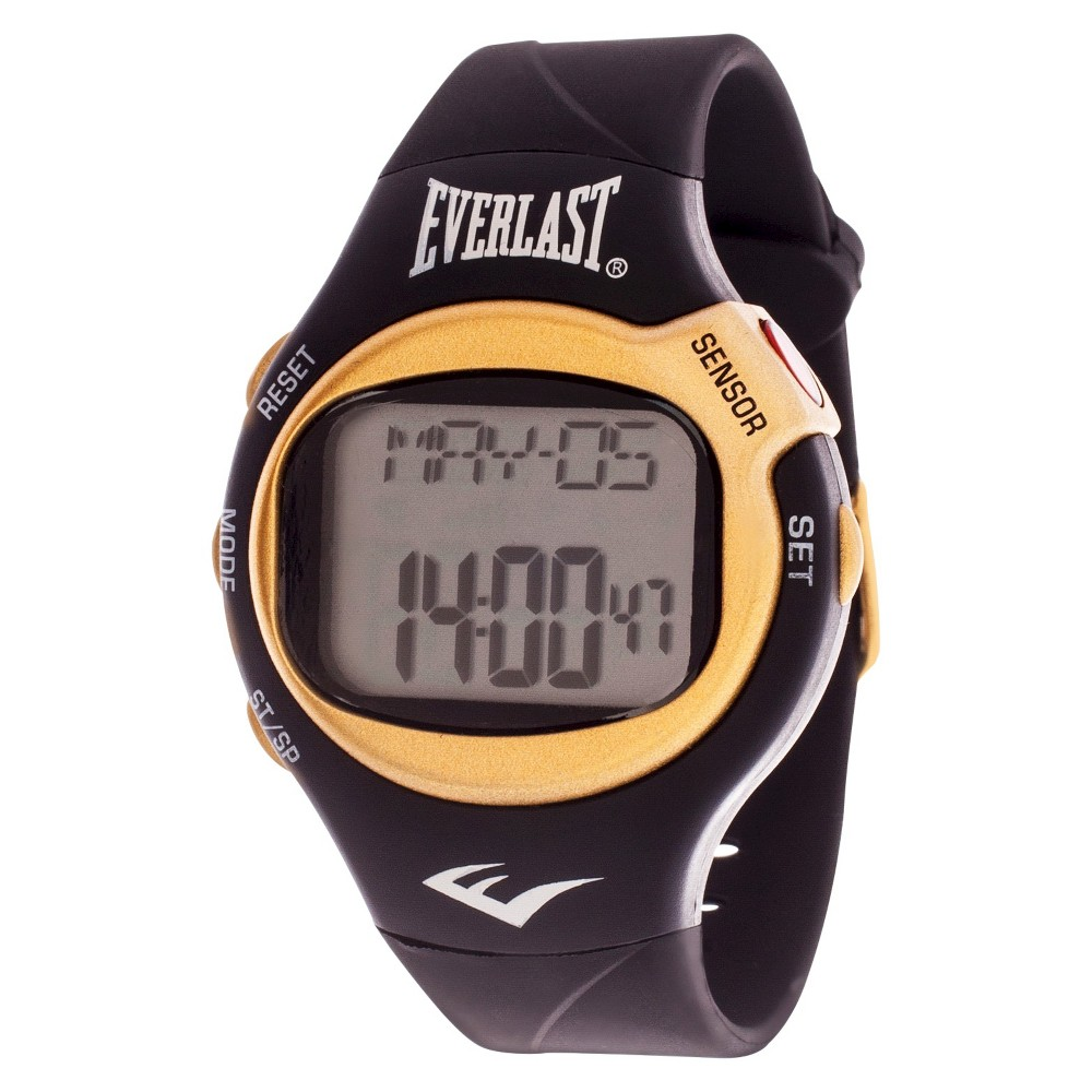 Everlast Heart Rate Monitor Watch - Black