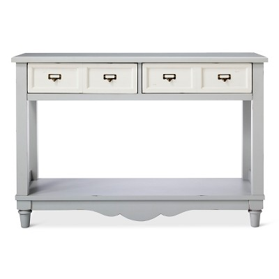 Westville Console Table Dove Gray - Beekman 1802 FarmHouse™
