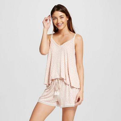 Women's Tank Pajama Set Total Comfort Animal Print M - Gilligan & O'Malley™