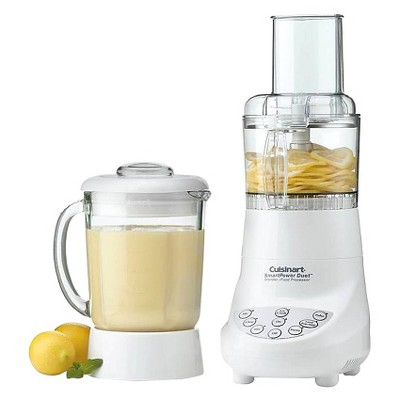 Cuisinart Refurbished Duet Blender & Food Processor -Silver