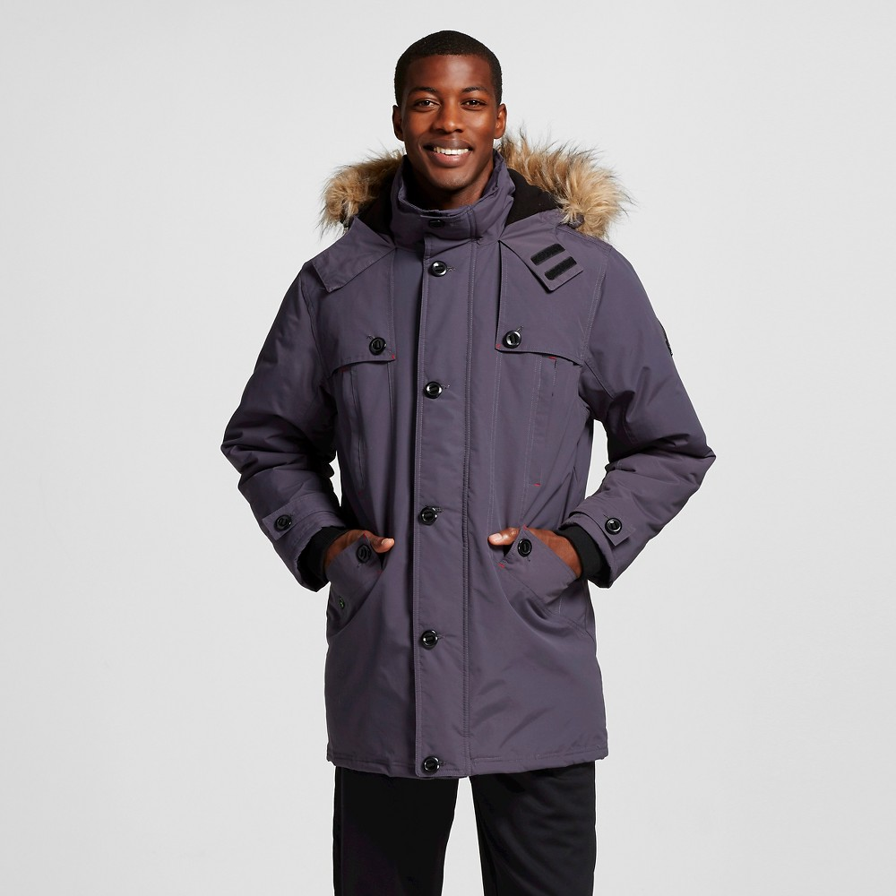 Men's Heavyweight Parka Charcoal (Grey) XL - Rbx
