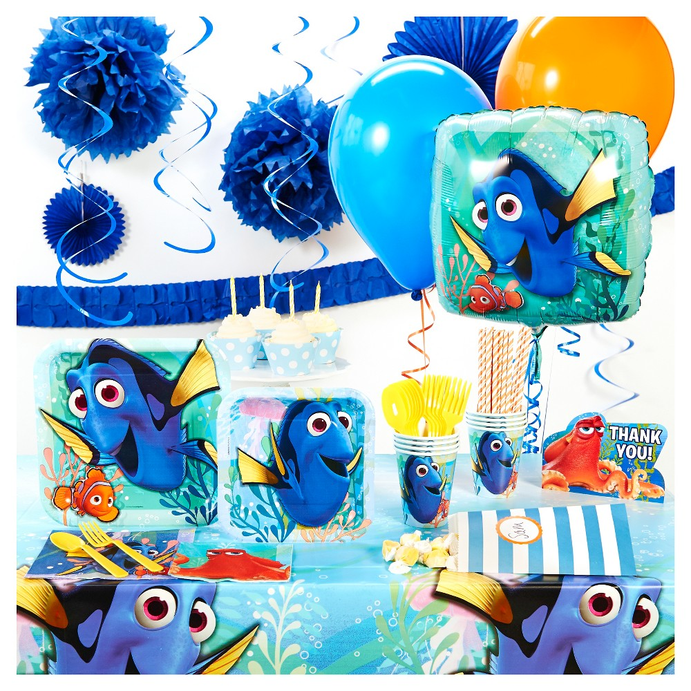 Finding Dory Super Deluxe Party Kit, Multi-Colored