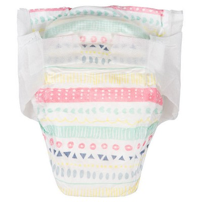 Honest Company Diapers Club Pack, Pastel Tribal - Size 4  (29 Count)