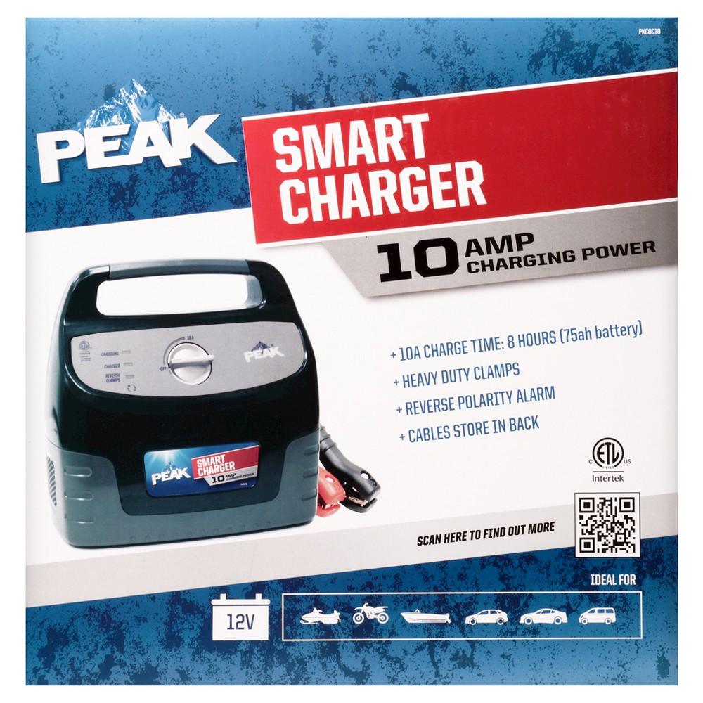Peak 10 Amp Smart Charger