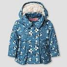 Urban Republic Girls'  Double Breasted Fleece Jacket  - Denim Print