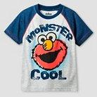 Toddler Boys' Sesame Street® Elmo Short Sleeve T-Shirt - Grey