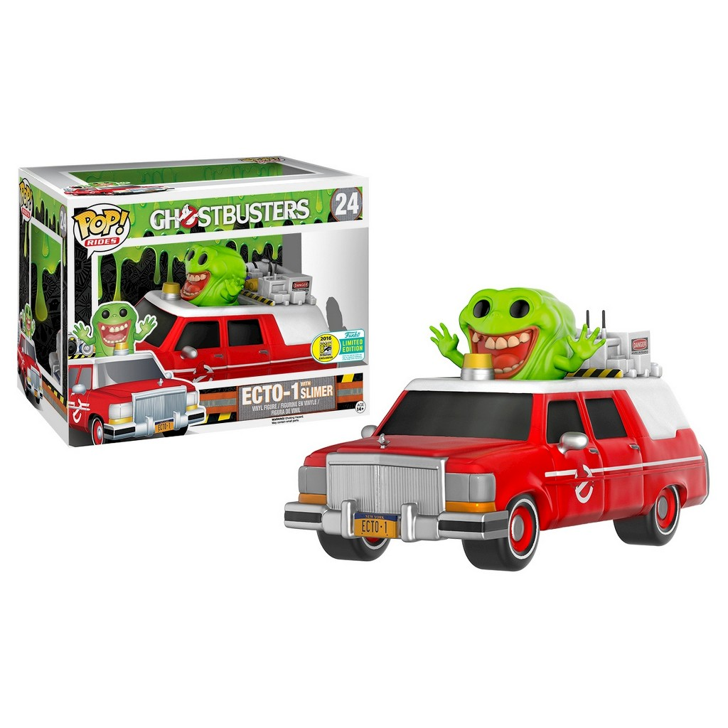 Funko Pop Rides: Ghostbusters Ecto-1 with Slimer (Convention Exclusive) - Only @ Target. Image 1 of 1.
