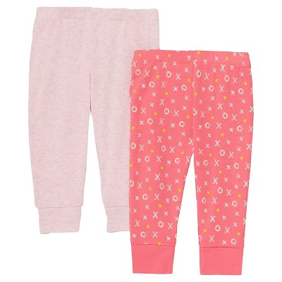 Skip Hop Baby Girls' Pant Set - Pink 3M