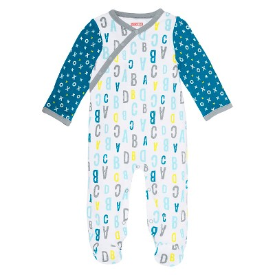 Skip Hop Baby Boys' Side Snap Bodysuit - Blue 3M