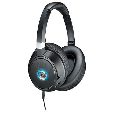 Audio Technica QuietPoint® Active Noise-cancelling Headphones - Black (ATH-ANC70)