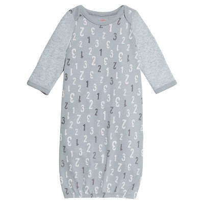 Skip Hop Baby Gown - Grey OSFM