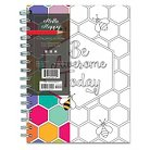 """TF Publishing Hello Happy Coloring Journal, 140 Pgs, (8"""" x 6.375"""")"""