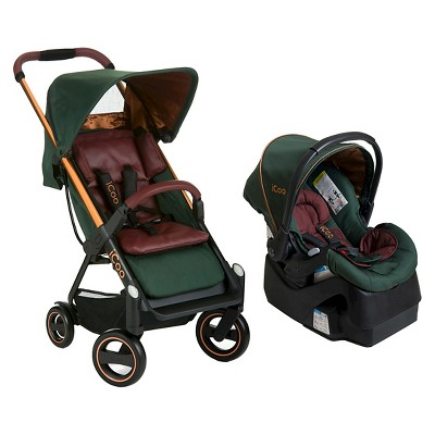 iCoo Acrobat + iGuard 35 Infant Seat Copper Green
