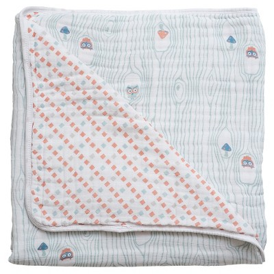 Bebe au Lait Snuggle Blanket, Little Owl/Tinsley