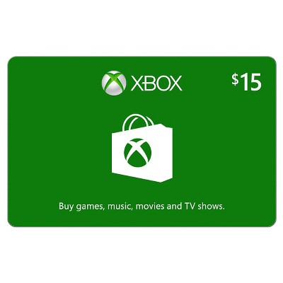 Xbox Digital Gift Card $15 (Email Delivery)