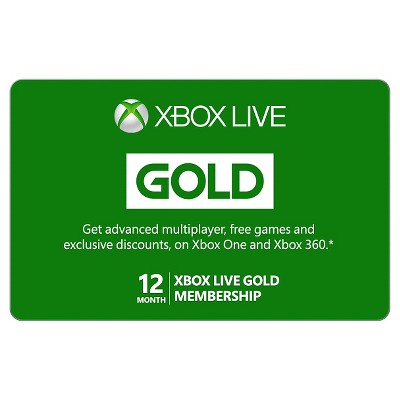 Xbox Live 12 Month Gold Membership $59.99 (Email Delivery)