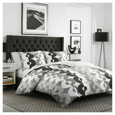 Kelso Comforter And Sham Set King Gray - City Scene®
