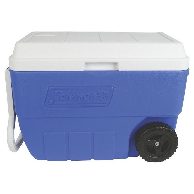 Coleman® 56 Quart Performance Wheeled Cooler - Blue
