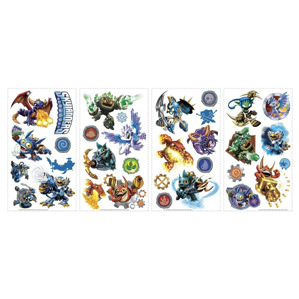 Skylanders Removable Wall Decal, Multi-Colored
