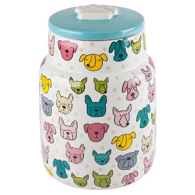 Housewares International Anne Was Here Puppy Dot Treat Jar - 9 in.