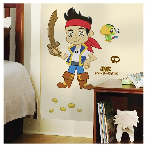 jake and the neverland pirate giant wall decal target rmk1793gm jake amp the neverland pirates giant wall stickers