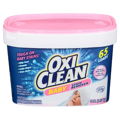 OxiClean Baby Stain Soaker - 3lb