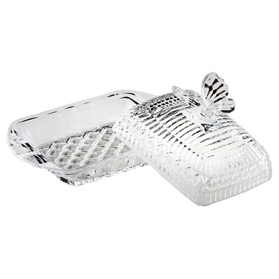 Global Amici Butterfly Butter Dish