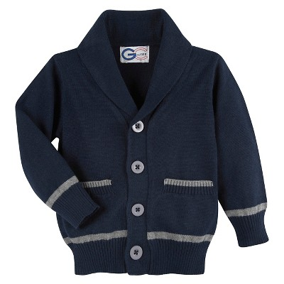 G-Cutee® Baby Boys' Varisty Cardigan - Navy 3-6M