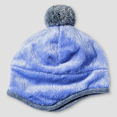 Baby Girls' Igloos Butter Pile Peruvian Hat Periwinkle 12M-24M